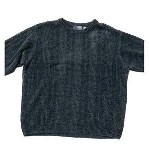 JF grey long sleeve sweater